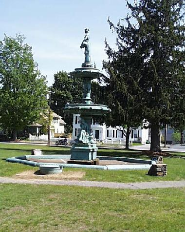 West Brookfield Common Fountain