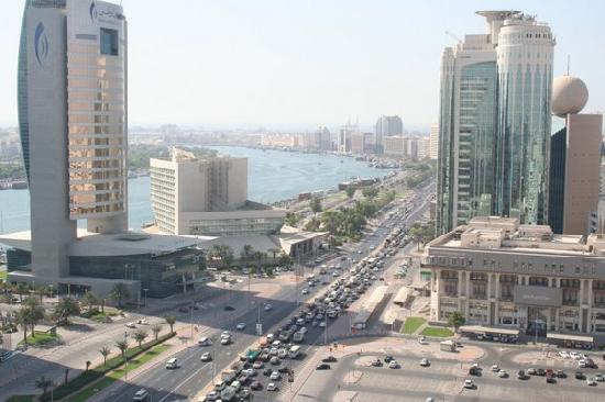 Hilton Dubai Creek : View from our executive panoramic room