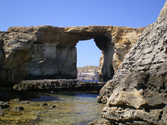 San Lawrenz, Malta: The Azure Window Dwerja