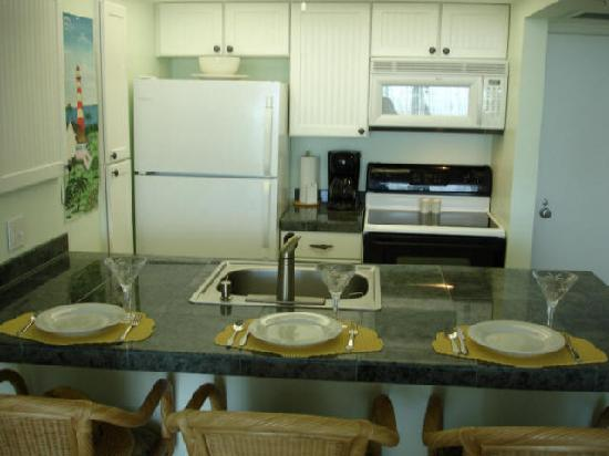 Island Beach Resort: fully euipped kitchen