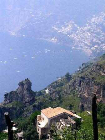 Agerola, Italië: on the Path of the Gods, above Positano
