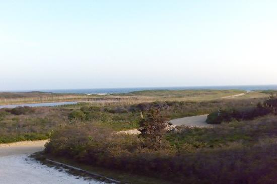 Nantucket, MA: Ocean view from our house