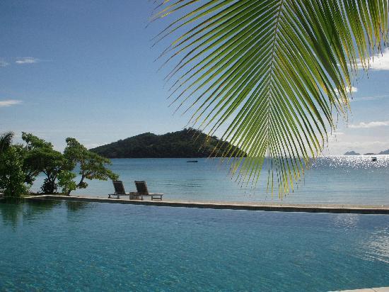 Likuliku Lagoon Resort: The pool