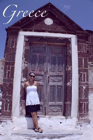 Ifestio Villas: Typical Greek door