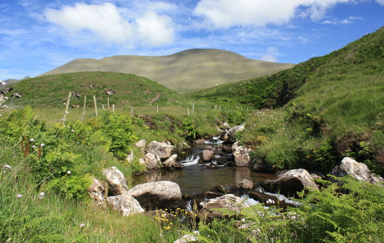 Ireland: co. Kerry - Dingle Peninsula - Brandon Creek