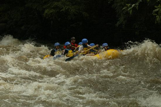 Mexico Verde Resort de Aventura: Rafting (lot of fun)