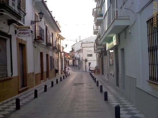 The Atrium at San Roque: The local streets...
