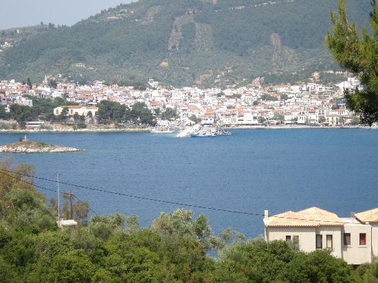 Punta, Grecia: la vista dalla ns camera