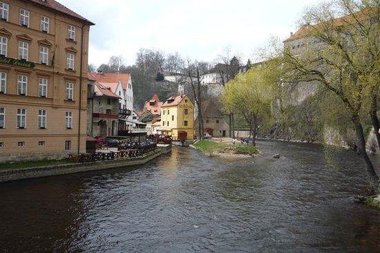 Cesky Krumlov, Czech Republic: River