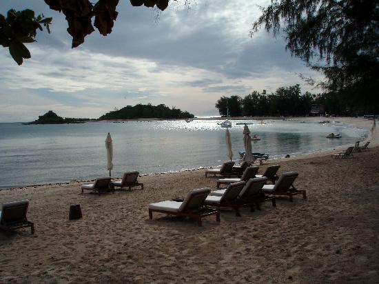 SALA Samui Choengmon Beach Resort: the beach high tide