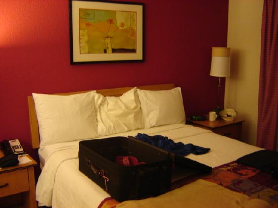 Residence Inn Palo Alto Los Altos: The bed room, one bedroom suite