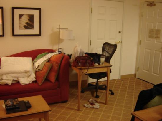 Residence Inn Palo Alto Los Altos: Front room