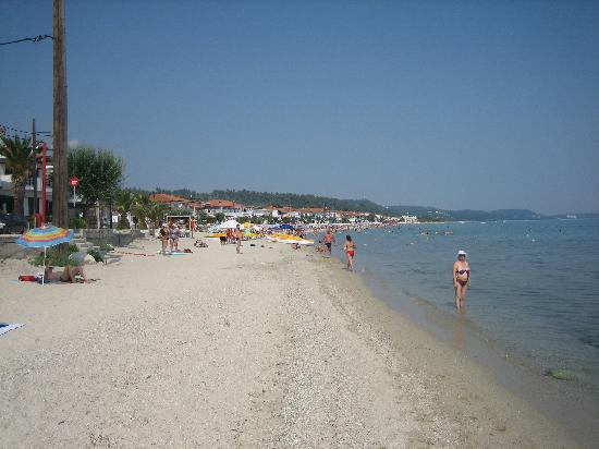 Polichrono, Greece: beach
