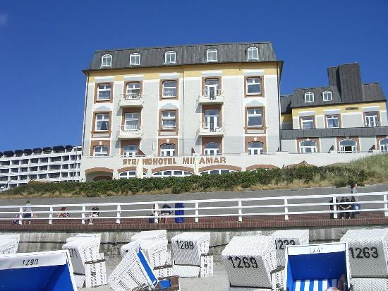 ansicht vom strand picture of miramar hotel westerland tripadvisor. Black Bedroom Furniture Sets. Home Design Ideas