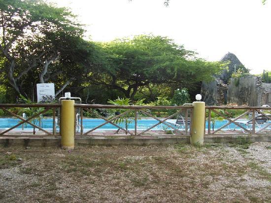 Landhuis Daniel: poolside