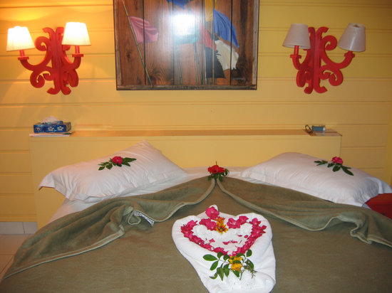Club Med Hammamet: la chambre du bungalow