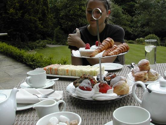 East Lodge Country House Hotel : Afternoon Tea at East Lodge