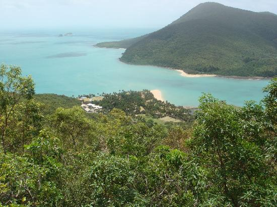 Brampton Island, Australie : The view from the peak