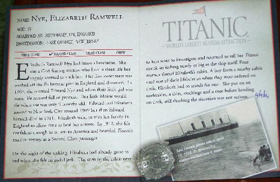 Titanic Museum: Inside the Boarding Pass