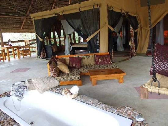 Mara Timbo Camp : my tent