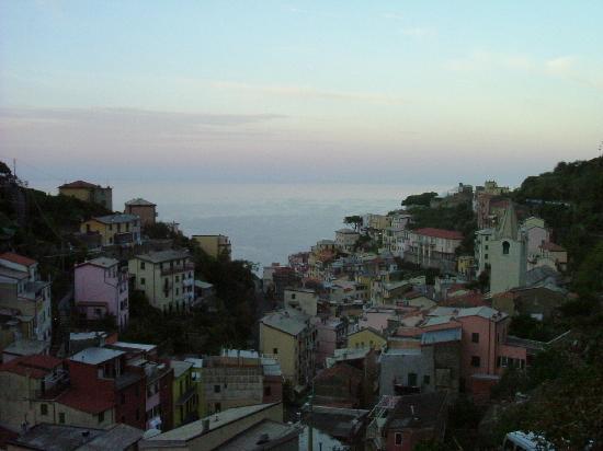 Hotel Villa Argentina: view from balcony- Hotel Argentina-Riomaggiore