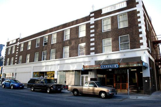 Gardner Hotel: Hotel exterior