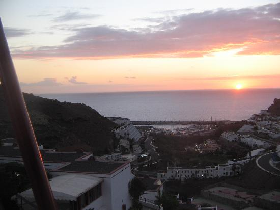 Inagua Apartments: sunset view from inagua