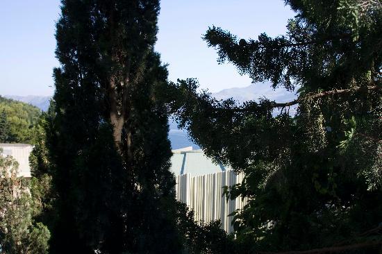 Hotel Croatia Cavtat: so called sea view