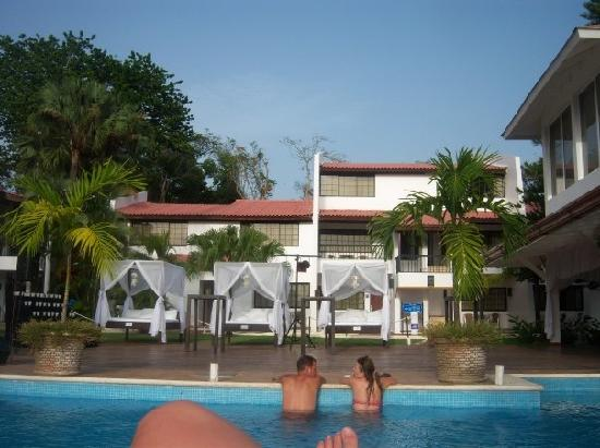BlueBay Villas Doradas Adults Only: View of the quiet spa and pool area