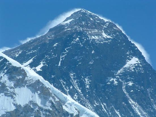Khumbu, เนปาล: El pico del Everest