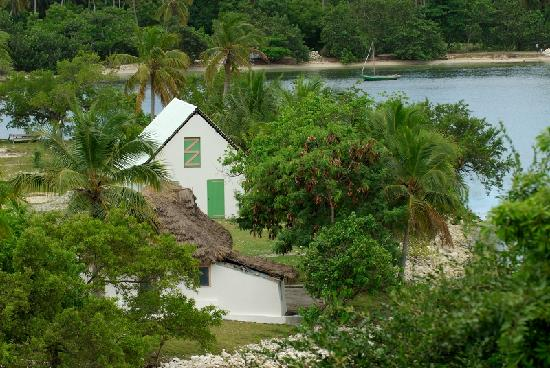 Ile-a-Vache, Haiti: A simple house on Ile a Vache