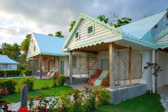 Ile-a-Vache, Haiti: A bungalow on Ile a Vache