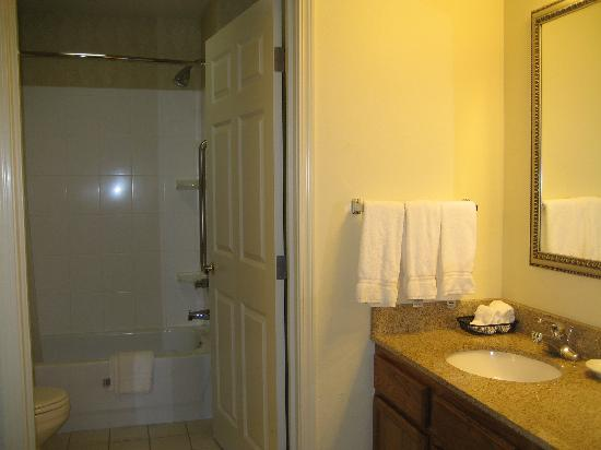 Residence Inn Buffalo Galleria Mall: Bathroom and separate sink area
