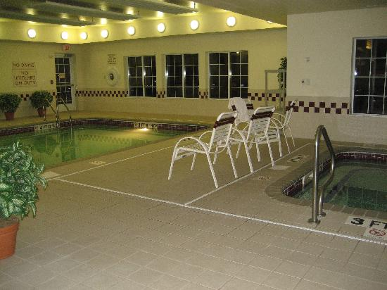 Residence Inn Buffalo Galleria Mall: The pool and whirlpool