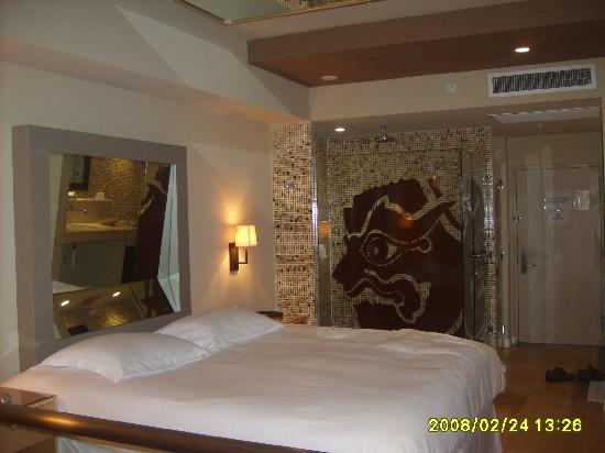 Hotel Aladdin: The Indian themed room