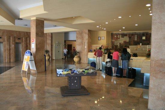 Iberostar Las Dalias: la réception