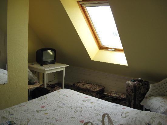 Hotel L'Hippocampe : our room at L'Hippocampe
