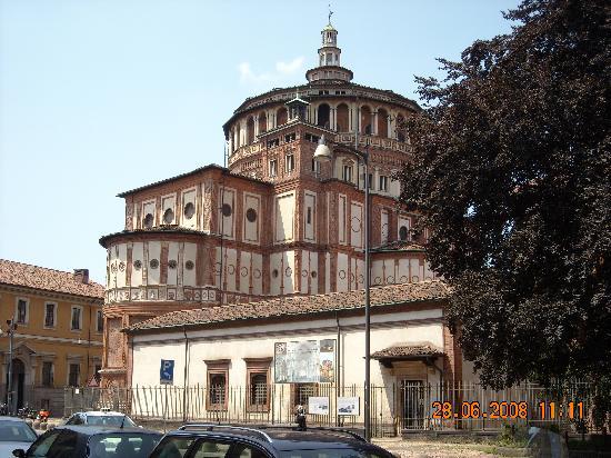 La Cène (Léonard de Vinci) : Church of Santa Maria delle Grazie