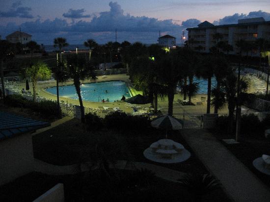 Amalfi Coast Resort: Night View from Balcony