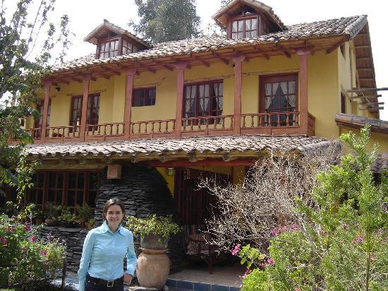 Hosteria Rumichaca: Hosteria Rumichaca, Casa Principal