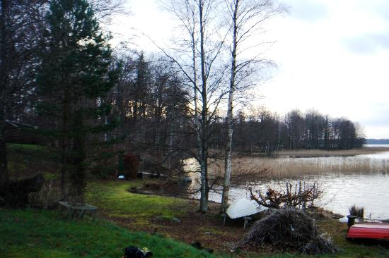Jonkoping County, Sweden: A view of Bolmen