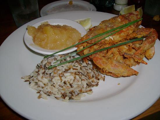 Fins Fish House & Raw Bar : Soft Shelled Crabs