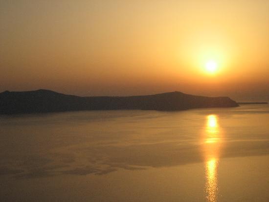 فيلا رينوس: View from our terrace-does it get better than this?