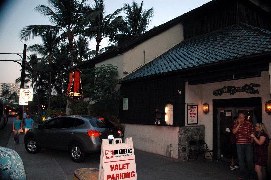 886323e9ec8 Kobe  Japanese Steak House  Valet parking