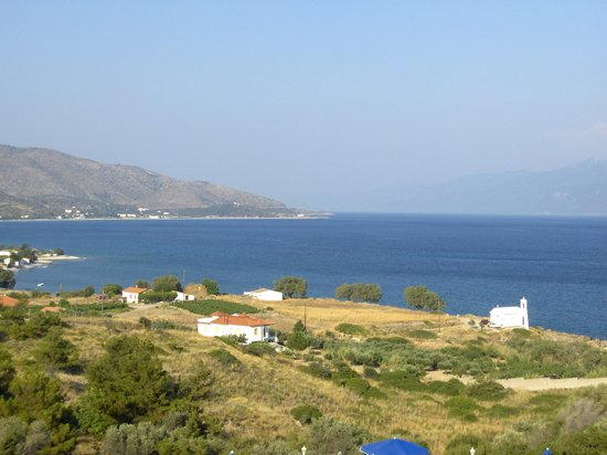 Pythagorion, Greece: La vista dalle camere