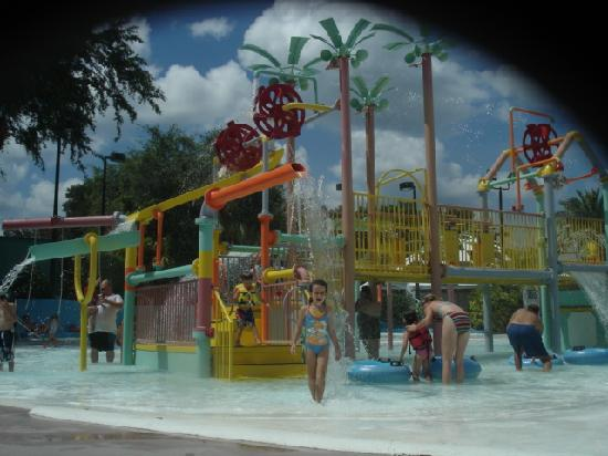 Adventure Island: Splash park (this is the small one)