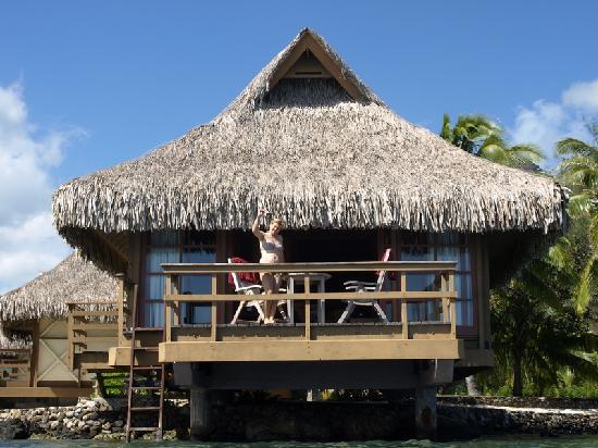 InterContinental Moorea Resort & Spa : notre superbe bungalow (pilotis premium)
