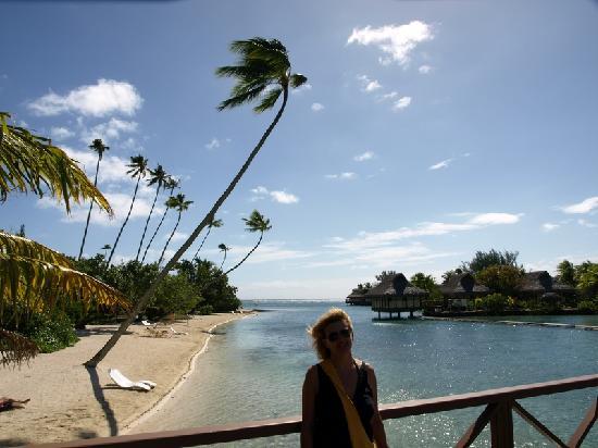 InterContinental Moorea Resort & Spa : une des plages .........