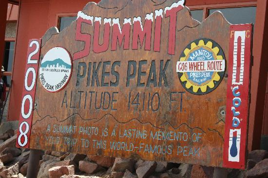 Manitou Springs, CO: Cog Railway to Pikes Peak