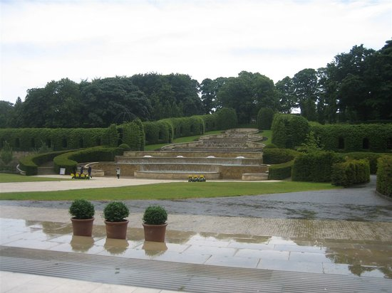The Alnwick Garden: the unremarkable cascade